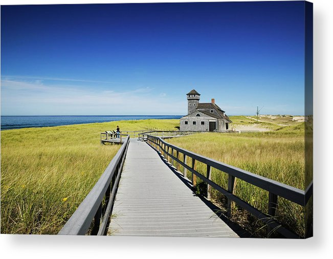 Outdoors Acrylic Print featuring the photograph Usa, Massachusetts, Cape Cod by Walter Bibikow