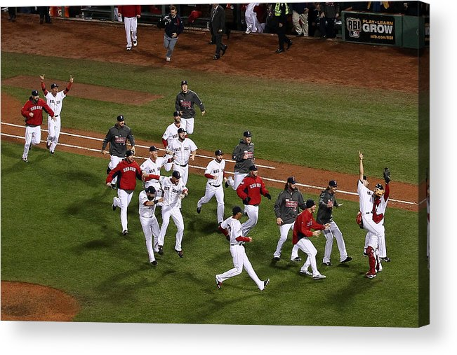St. Louis Cardinals Acrylic Print featuring the photograph World Series - St Louis Cardinals V by Alex Trautwig