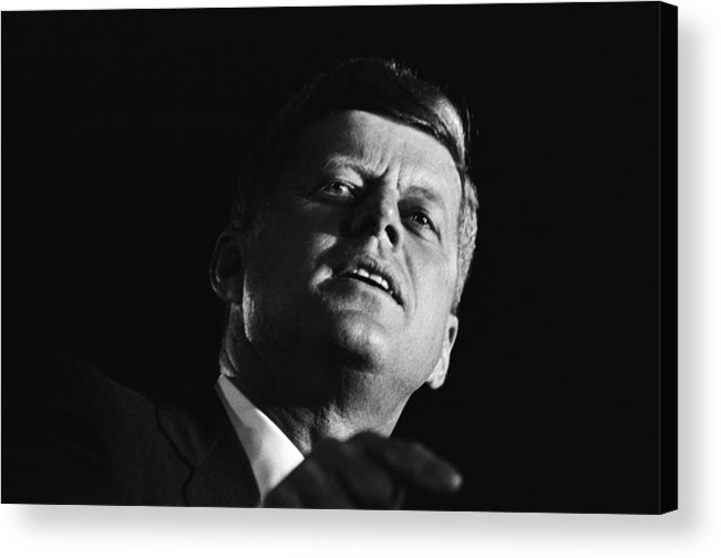 Event Acrylic Print featuring the photograph John F. Kennedy Campaign Event by Michael Ochs Archives
