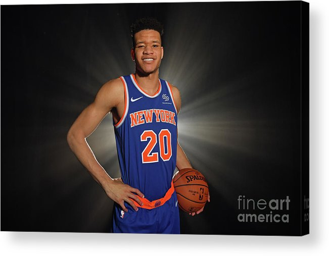 Nba Pro Basketball Acrylic Print featuring the photograph 2018 Nba Rookie Photo Shoot by Jesse D. Garrabrant
