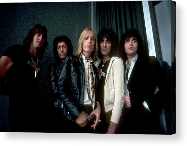 Music Acrylic Print featuring the photograph Photo Of Tom Petty & The Heartbreakers by Michael Ochs Archives