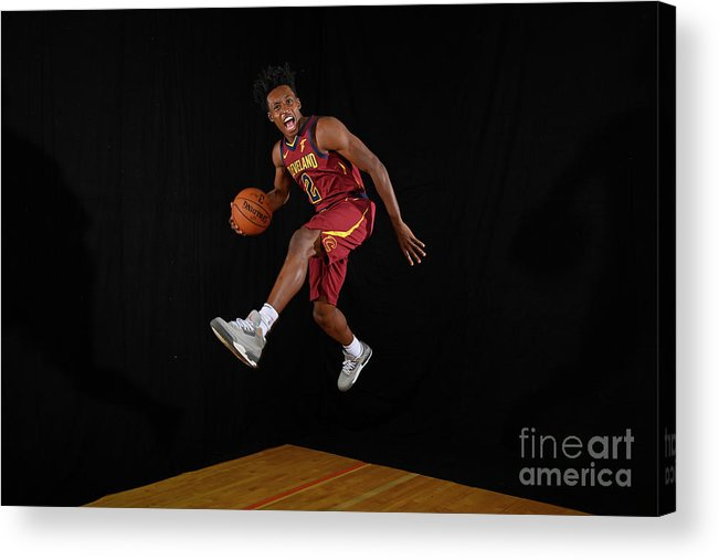 Nba Pro Basketball Acrylic Print featuring the photograph 2018 Nba Rookie Photo Shoot by Brian Babineau