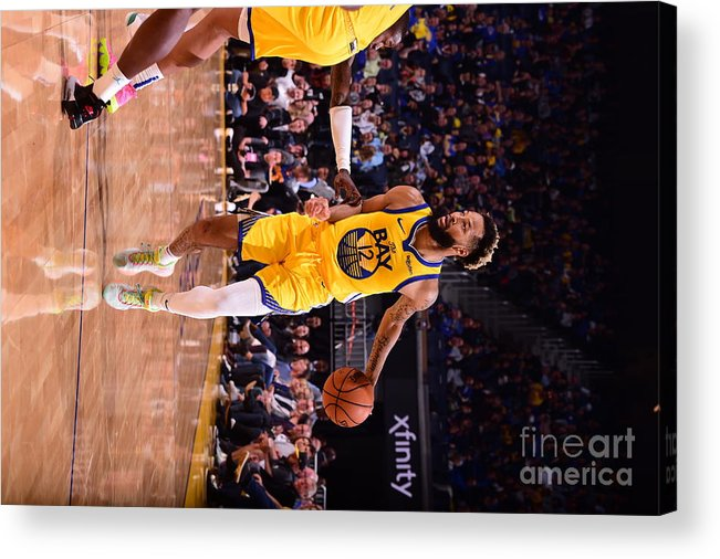 San Francisco Acrylic Print featuring the photograph Charlotte Hornets V Golden State by Noah Graham