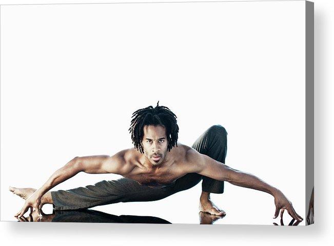 Torso Acrylic Print featuring the photograph Dance Studio by Patrik Giardino