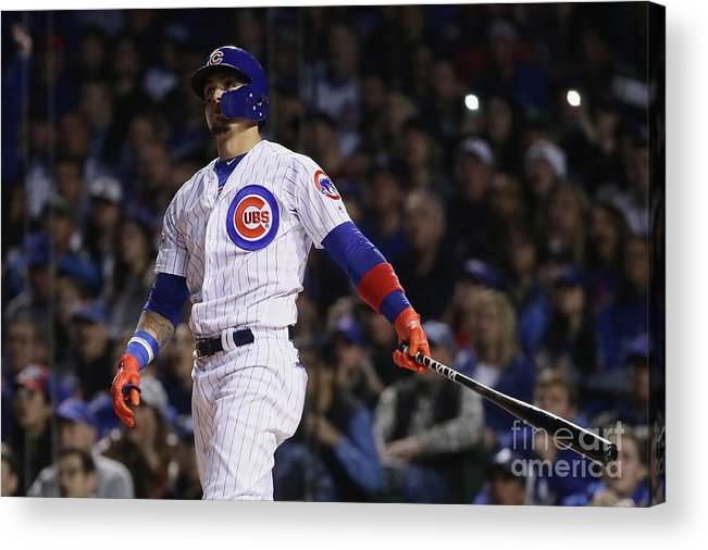 Second Inning Acrylic Print featuring the photograph League Championship Series - Los by Jonathan Daniel