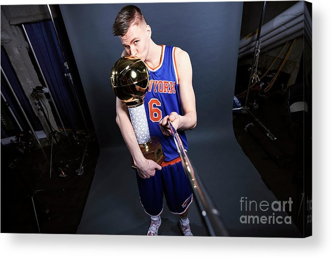 Event Acrylic Print featuring the photograph Nba All-star Portraits 2017 by Jennifer Pottheiser