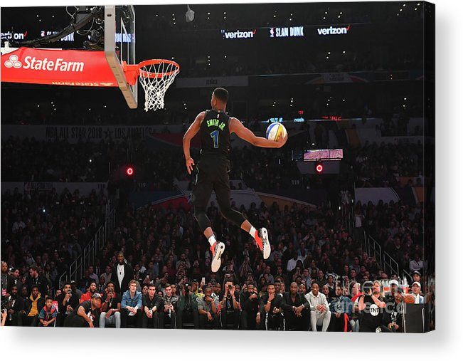 Event Acrylic Print featuring the photograph Verizon Slam Dunk Contest 2018 by Jesse D. Garrabrant