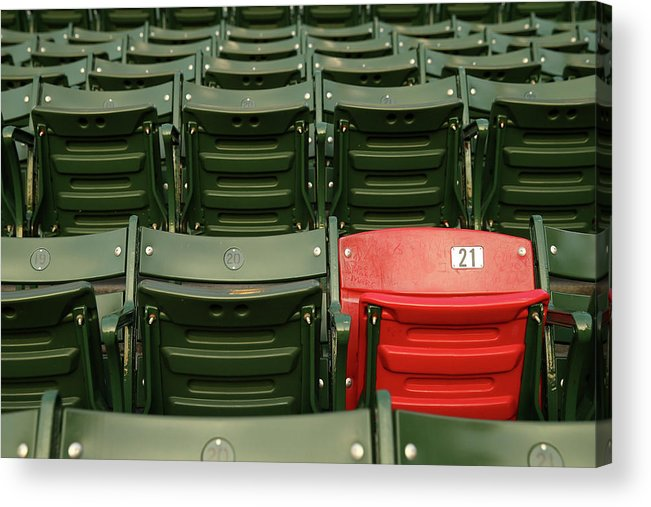Playoffs Acrylic Print featuring the photograph World Series - St Louis Cardinals V by Elsa