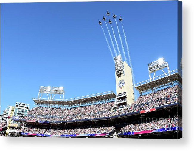 American League Baseball Acrylic Print featuring the photograph 87th Mlb All-star Game by Harry How