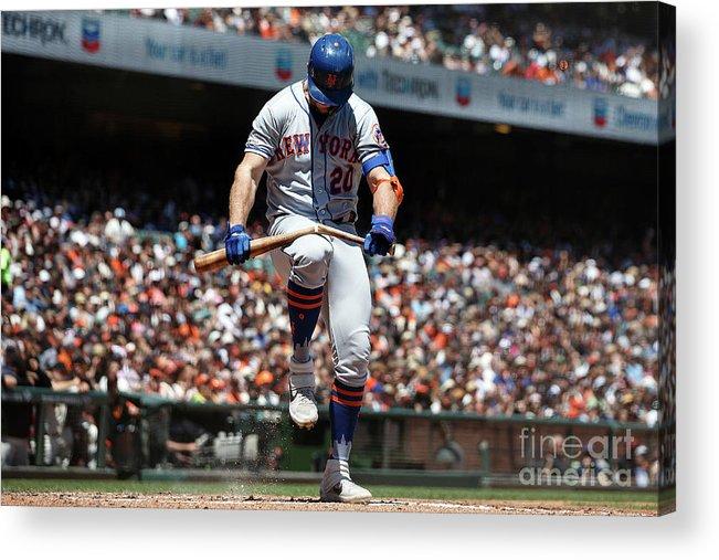 San Francisco Acrylic Print featuring the photograph New York Mets V San Francisco Giants by Jason O. Watson