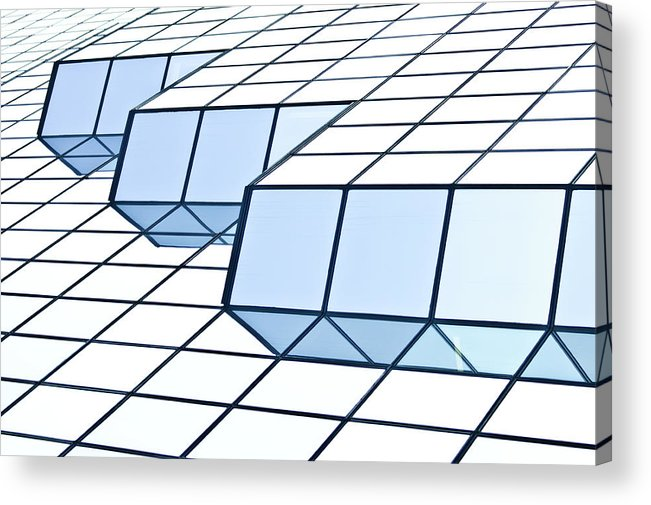 Rectangle Acrylic Print featuring the photograph Almost Pure Geometry by Daniel Kulinski
