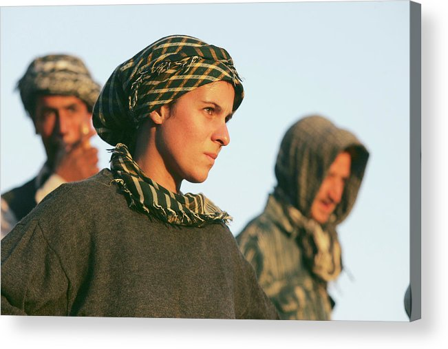 People Acrylic Print featuring the photograph Ancient Treasures Of Afghanistan by John Moore
