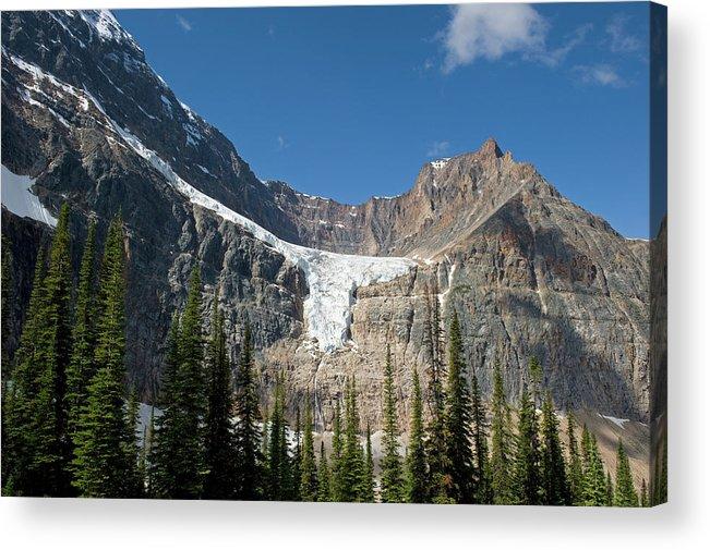 Scenics Acrylic Print featuring the photograph Angel Glacier by Jim Julien / Design Pics