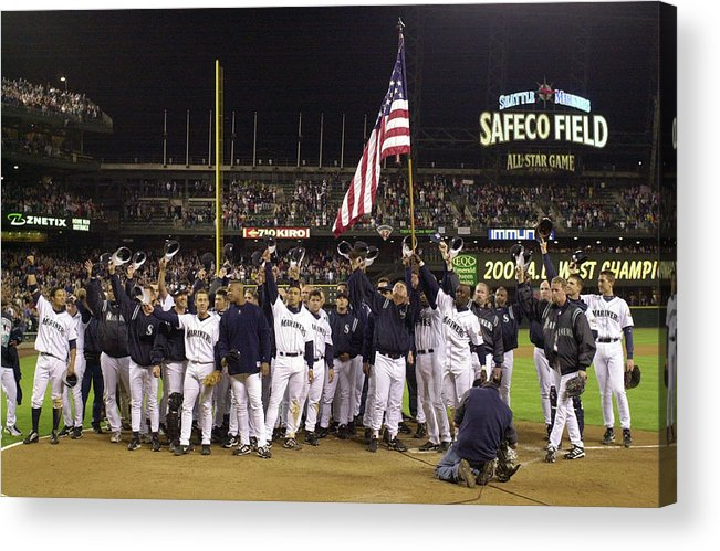 Of Anaheim Acrylic Print featuring the photograph Angels V Mariners X by Otto Greule Jr
