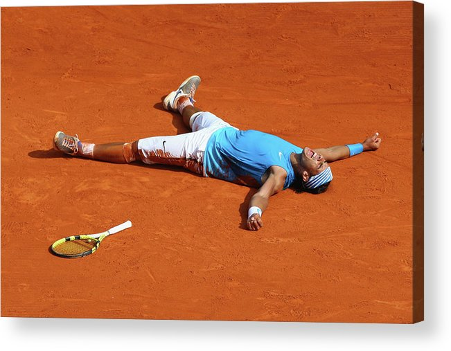 Tennis Acrylic Print featuring the photograph Atp Masters Series by Michael Steele