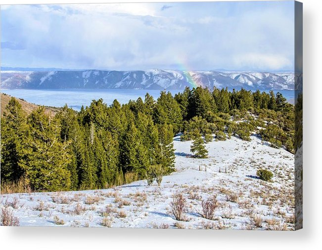 Tranquility Acrylic Print featuring the photograph Bear Lake Scenic Byway by ©anitaburke