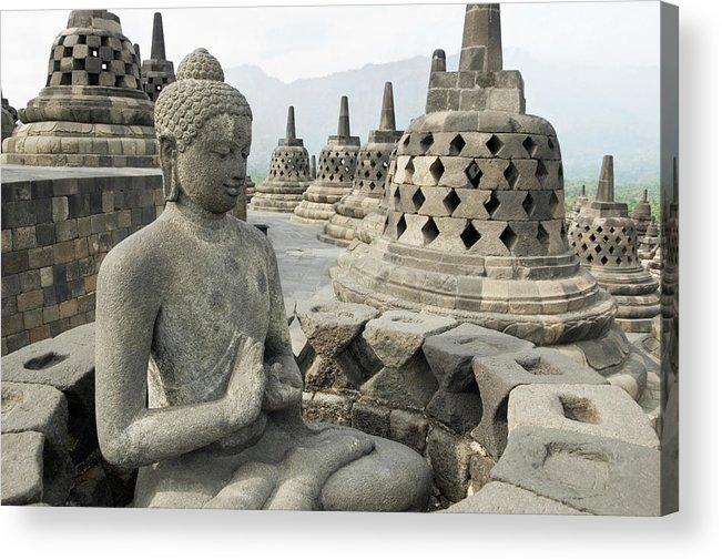 Art Acrylic Print featuring the photograph Borobudur Java Indonesia by Lp7