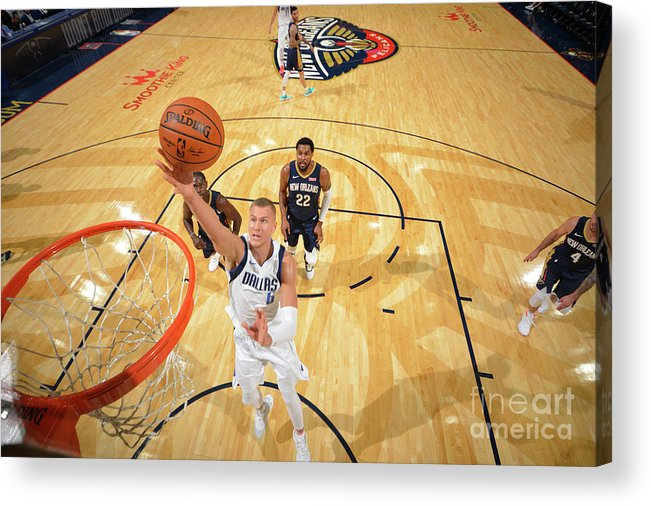 Smoothie King Center Acrylic Print featuring the photograph Dallas Mavericks V New Orleans Pelicans by Jesse D. Garrabrant