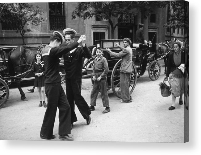 Music Acrylic Print featuring the photograph Dancing Sailors by Haywood Magee
