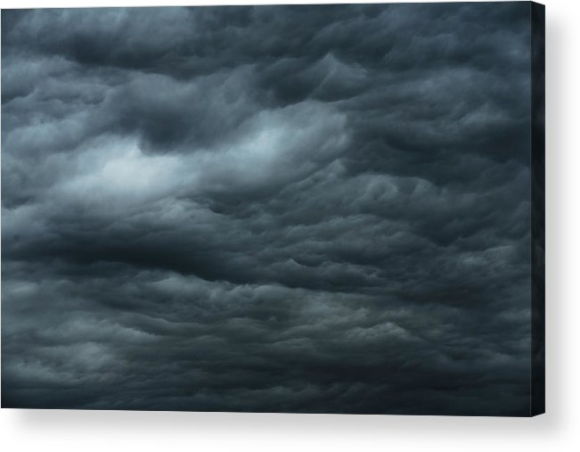 Thunderstorm Acrylic Print featuring the photograph Dark Clouds by Bkindler