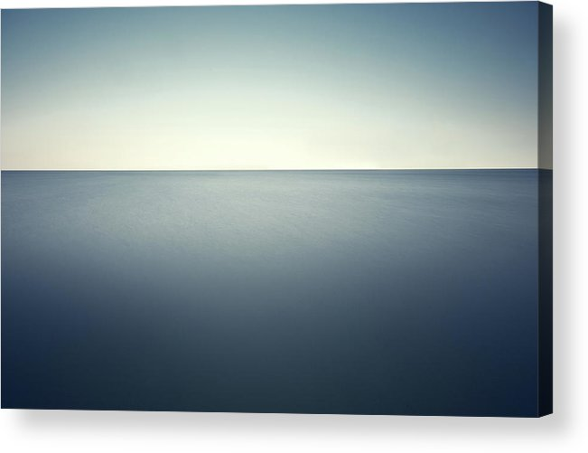 Scenics Acrylic Print featuring the photograph Deep Blue Sea by Ppampicture