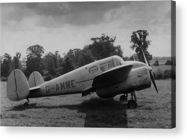 Director Acrylic Print featuring the photograph Directors Plane by Charles Hewitt