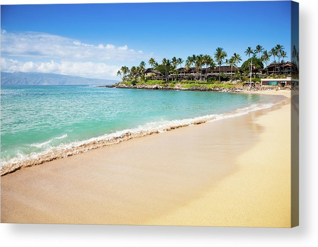 Lahaina Acrylic Print featuring the photograph Dream Beach Napili Bay Maui Hawaii by Mlenny