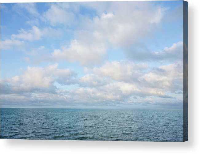 Tranquility Acrylic Print featuring the photograph Early Morning, Nantucket Sound by Nine Ok