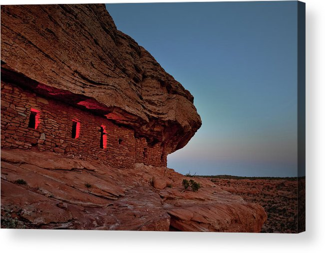 Tranquility Acrylic Print featuring the photograph Evening At The Citadel by Doorways To The Past