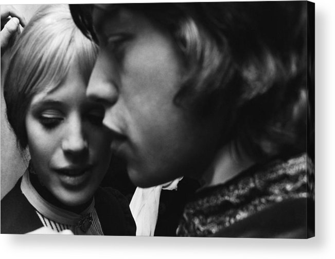 Rock Music Acrylic Print featuring the photograph Faithfull To Jagger by C. Maher