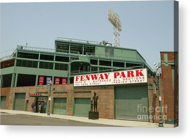 American League Baseball Acrylic Print featuring the photograph Fenway Park by Getty Images