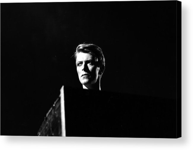 David Bowie Acrylic Print featuring the photograph Head Of David by Evening Standard