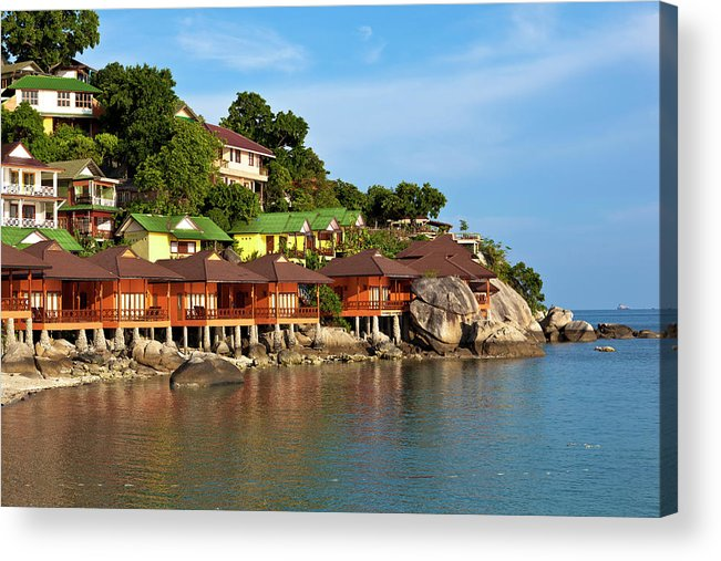Vacations Acrylic Print featuring the photograph Holiday Villas by 35007