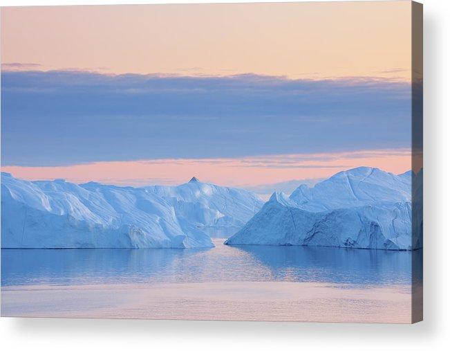 Iceberg Acrylic Print featuring the photograph Iceberg by Raimund Linke