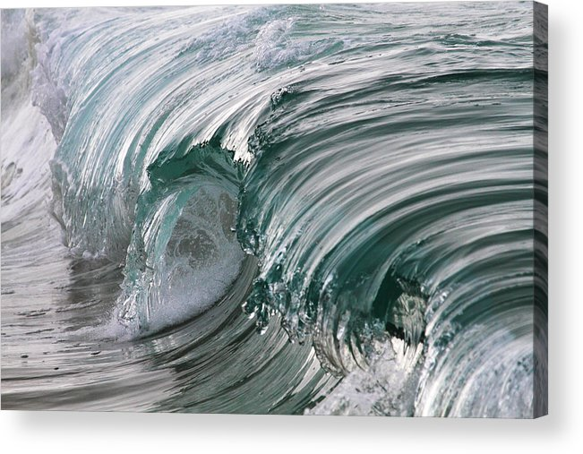 Scenics Acrylic Print featuring the photograph Jibbon Wave by Ewen Charlton