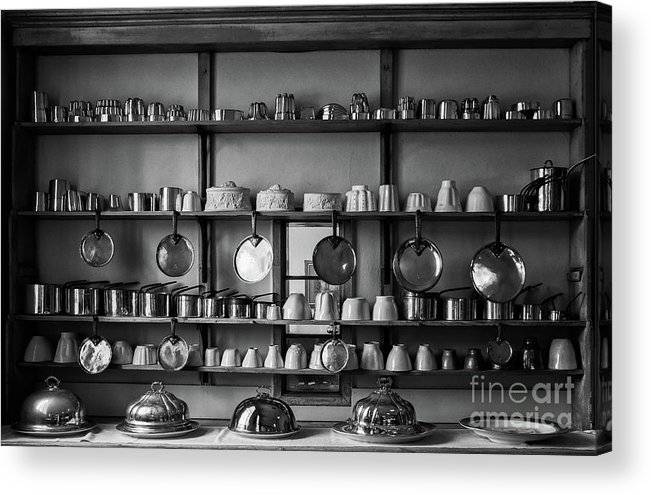 Hanging Acrylic Print featuring the photograph Kitchen Accessories, Saffron Walden by Helen Hooker