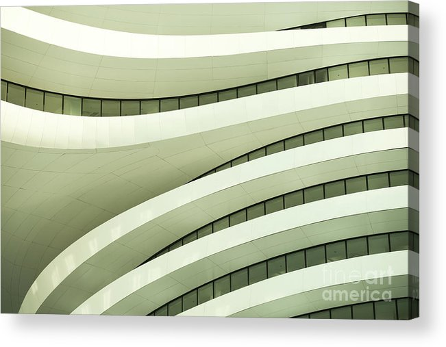 Arch Acrylic Print featuring the photograph Modern Architecture by Phototalk