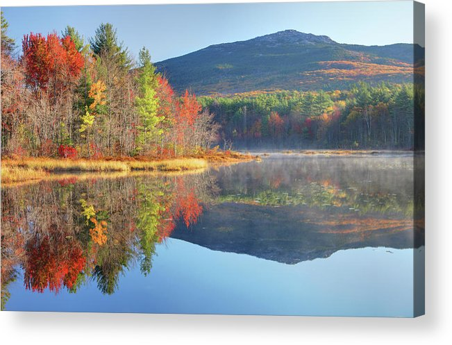 Scenics Acrylic Print featuring the photograph Mount Monadnock In Autumn by Denistangneyjr