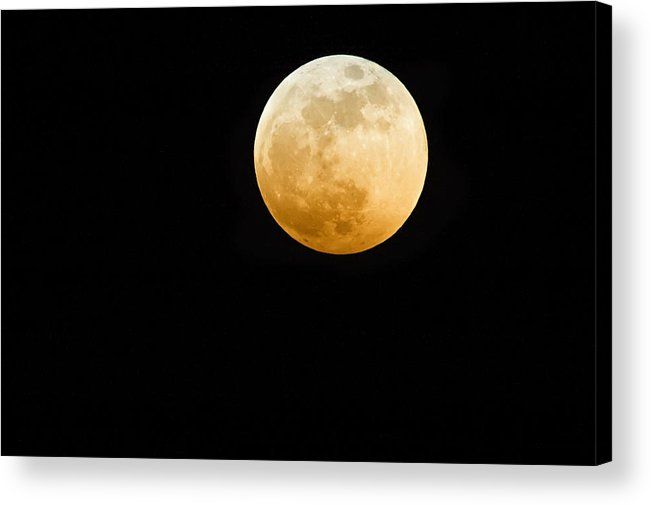 Shadow Acrylic Print featuring the photograph Red Moon by Stevedangers