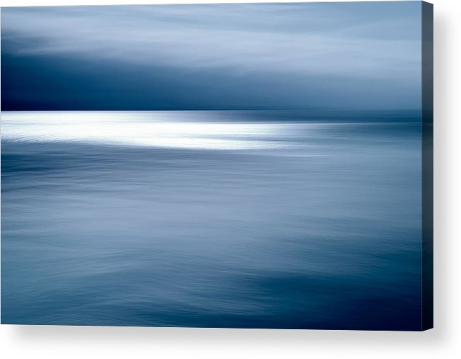 Water Acrylic Print featuring the photograph Sunbeams On The Lake II by Rolf Florschuetz
