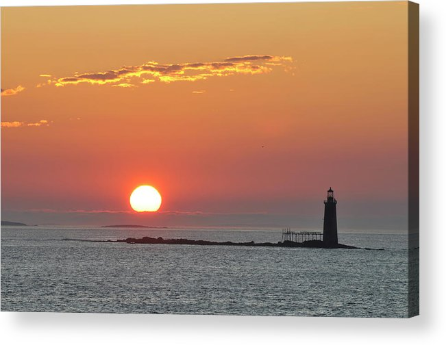 Scenics Acrylic Print featuring the photograph Sunrise by Aimintang