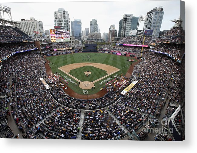 American League Baseball Acrylic Print featuring the photograph T-mobile Home Run Derby by Todd Warshaw