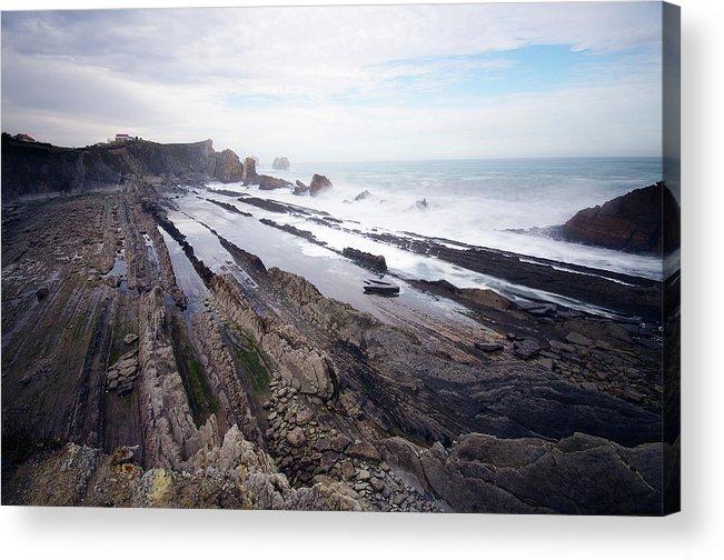 Scenics Acrylic Print featuring the photograph Taste Of The Sea by David Díez Barrio