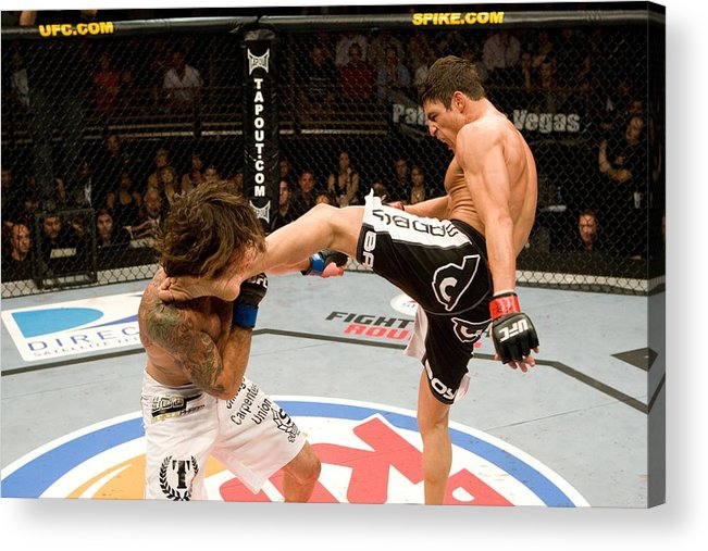 Sport Acrylic Print featuring the photograph The Ultimate Fighter 9 Finale by Josh Hedges/zuffa Llc