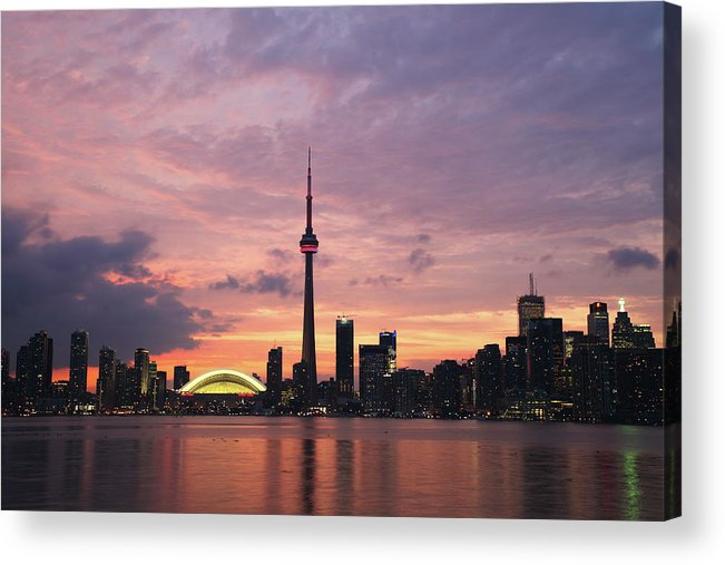 Lake Ontario Acrylic Print featuring the photograph Toronto by Js`s Favorite Things