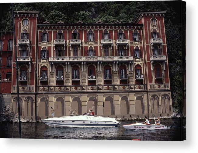 East Acrylic Print featuring the photograph Villa Deste by Slim Aarons