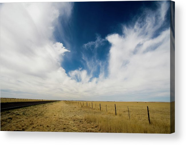 Scenics Acrylic Print featuring the photograph West Texas Grasslands United States Of by Tier Images