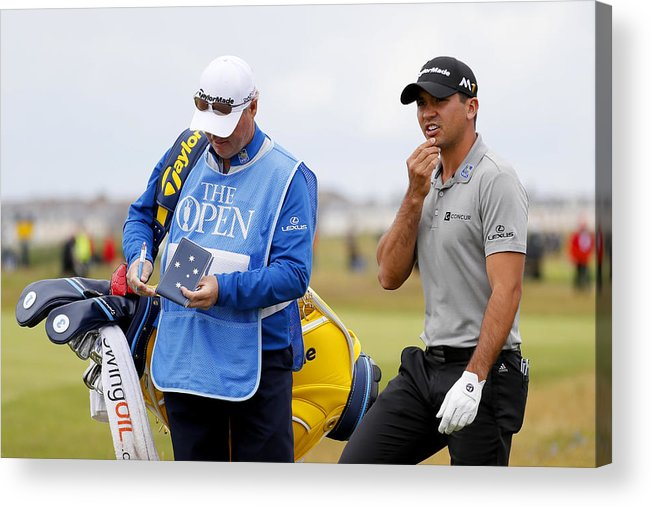 Three Quarter Length Acrylic Print featuring the photograph 145th Open Championship - Previews by Kevin C. Cox