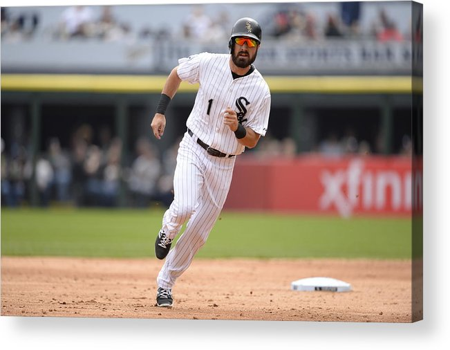 People Acrylic Print featuring the photograph Adam Eaton by Ron Vesely