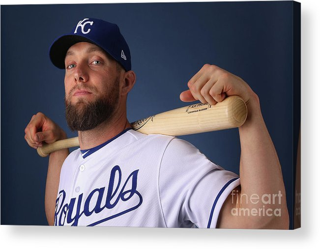 Media Day Acrylic Print featuring the photograph Alex Gordon by Christian Petersen